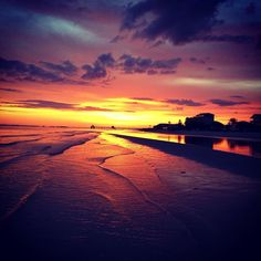 Ft. Myers Beach at Sunset!