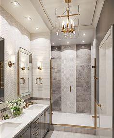 Bathroom decor, Bathroom decoration, Bathroom DIY and Crafts, Bathroom home design House Bathroom, Bathroom Interior Design, Bathroom Remodel Master, Decor Interior Design, Home Decor, House Interior, Luxury Bathroom, Bathroom Decor, Beautiful Bathrooms