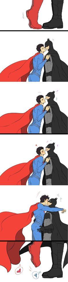 Joke on you, Batman. Never forget that Superman can fly! Superman X Batman, Marvel Dc Comics, Superhero Family, Batman Family, Cartoon Ships, Superbat, Dc Memes, Dc Characters, 19 Days