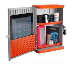 Protect all your valuables by investing in a safe for your room! #dormroom #decorating