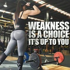 Women& Workout Inspiration - Weakness Is A Choice Poster - fitness posters memes motivation meme quote Tips Fitness, Fitness Routines, Fitness Goals, Health Fitness, Gym Fitness, Fitness Products, Enjoy Fitness, Fitness Plan, Muscle Fitness