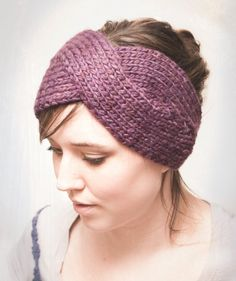 free knitting patterns for headbands | Let's Wear Cuter Headbands This Winter | Knits for Life