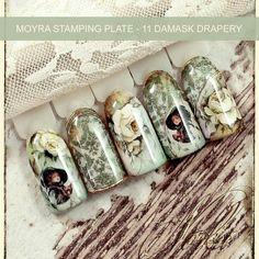 Moyra Damask Drapery Plate