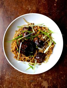 BRAISED OXTAIL NOODLES #oxtail #braisedoxtail #noodles
