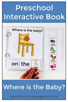 This is another great piece of work to use within the classroom especially as a beginner reader. Students can use the pictures to identify the words within the story. Preposition Activities, Vocabulary Activities, Preschool Learning Activities, Language Activities, Preschool Classroom, Shape Activities, Preschool Schedule, Articulation Activities, Preschool Speech Therapy