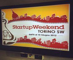 Secondo voi potevo mancare a questo fanstastico evento di Torino? Anche se non ho potuto partecipare in maniera attiva, è stata una bella esperienza che spero di ripetere in futuro.    Ovviamente sto parlando dello Startup Weekend di Torino partito l'8 giugno 2012.