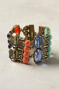 Kaleidoscope Glass Bracelet #anthropologie