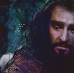 Thorin you poor thing. He just sounded so lost and heartbroken in that scene :'(←It was sad, His voice sound broken, he looked desperate, so sad, yes | The Hobbit | Thorin
