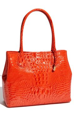 Brahmin 'Glossy Anytime' Tote... I need this in my life...
