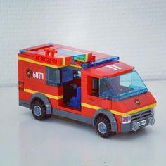 Lego Fire, Lego Army, Lego Modular, Lego Worlds, Emergency Response, Lego Moc, Emergency Vehicles, Diesel Trucks, Legoland