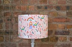 Princess lamp girls bedroom lamp princess by ShadowbrightLamps