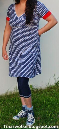 Tinas Wolke: Shirt oder Kleid by #allerlieblichst