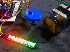 Control the speed of a Stepper motor using a Rotary encoder - Tutorial