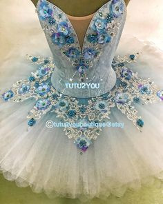 Capability wear and dance costumes characteristics on-trend design for every genres of dancing. Tutu Ballet, Ballerina Tutu, Dance Outfits, Dance Dresses, Ballet Russe, Blue Tutu, Ballet Clothes, Ice Skating Dresses, Ballet Fashion