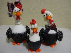 artes e mimos da paty e lê: galinhas da angola de cabaça