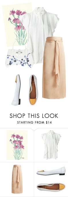 """""""bag"""" by masayuki4499 ❤ liked on Polyvore featuring Lanvin, Elizabeth and James, Fendi and Longchamp"""