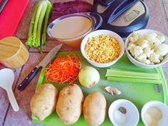 Insanely easy potato corn chowder   I posted this on Facebook today, but thought it would be a good idea to post it here too. It is su...