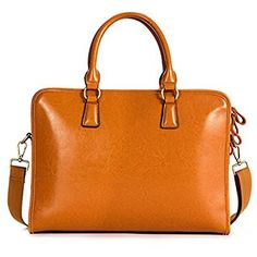 d7520a55e8f699 Kattee Damen Leder Aktentasche Messenger Bag 14