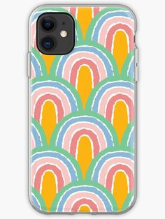 This brand new 'Rainbow' design will look great on any product. It is fun, colourful and eye-catching. Treat yourself or find somebody the perfect gift! Choose from the many varieties of products and BUY IT NOW to place your order. Iphone Wallet, Iphone 11, Iphone Case Covers, Cover Design, Finding Yourself, Tech, Rainbow, Artists, Unique