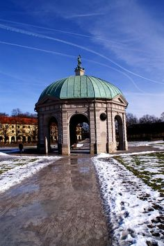 The Hofgarten, Munich Germany, was comissioned in 1613 by Maximilian I, elector of Bavaria