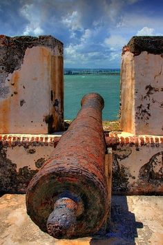 Maybe we will take in the sunset from El Morro and watch the cannon fire at night!