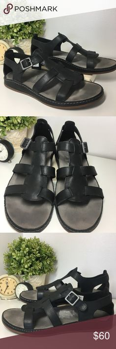 1aea876e7686 LAST PRICE ANKLE STRAP leather FLAT sandal 7.5 Used for a couple of ...