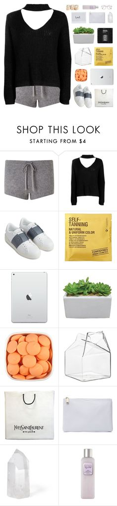 """""""keep screaming into the pillow"""" by frostedfingertips ❤ liked on Polyvore featuring Jigsaw, Boohoo, Valentino, Comodynes, CB2, Yves Saint Laurent, Jil Sander, Mapleton Drive, Laura Mercier and Miu Miu"""