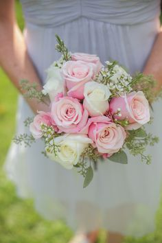 Simple + Beautiful #Rose #Bouquet I Tim LaBant Catering & Events I See more @WeddingWire