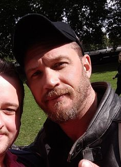 """Fan pic!! @TheRealJB888 """"Yeah I met Tom Hardy #famous"""""""