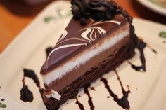 Life is short, so it's OK to eat dessert first!