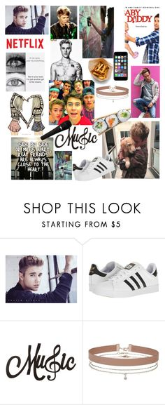 """""""All of me"""" by shoshie13 ❤ liked on Polyvore featuring Identity, adidas, Justin Bieber, Miss Selfridge and Off-White"""