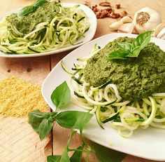 Mom's Summer Basil Pesto