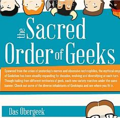 What Kind of Geek are You: The Sacred Order of Geeks