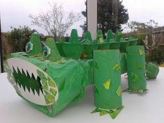Junk model crocodile