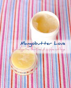 Mangobutter ist die leichte Alternative zu Shea, weniger reichhaltig und rückfettend. Ideal für feuchtigkeitsspendendes Argan Anti-Age Gel und Lippenpflege.