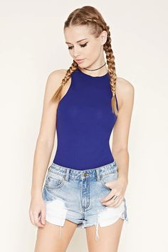 Ribbed Knit Top #thelatest