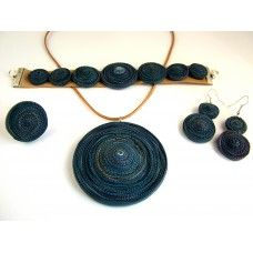 Spirálos ékszerszett 0501 Crochet Earrings, Jewelry, Fashion, Jewlery, Moda, Jewels, La Mode, Jewerly, Fasion