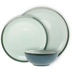 Buy Denby Everyday 12 Piece Dinner Set - Teal at Argos.co.uk - Your Online Shop for Crockery.