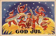 Christmas : God Jul , Elf Band , 20-30s Item# SCVIEW434335 (261830375)
