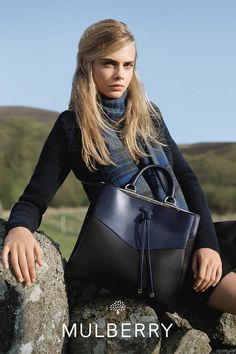 Cara Delevingne for Mulberry #AW14 #Bag #Mulberry
