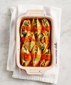 vegan stuffed shells / loveandlemons.com #vegan #recipe