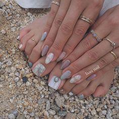ネイル ネイル in 2020 Feet Nails, My Nails, Mani Pedi, Pedicure, Beauty Makeup, Hair Beauty, Paws And Claws, Simple Nails, Nail Tech