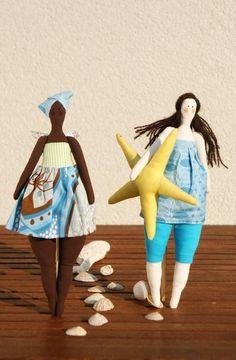 Sewing: Tilda doll - angel