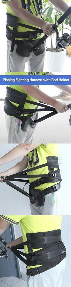 Fighting Belts and Harnesses 179989: Stand Up Offshore Fishing Gimbal Padded Waist Belt Harness Rod Pole Holder P5m7 -> BUY IT NOW ONLY: $42.24 on eBay!