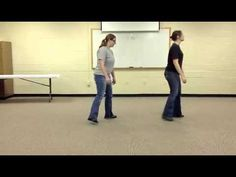 ▶ Electric Slide Line Dance Instruction - YouTube