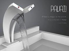 Pavati – Ein Wasserfall-Wasserhahn