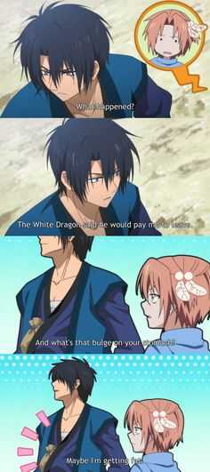 akatsuki no yona - episode 10. Hak is just so funny!