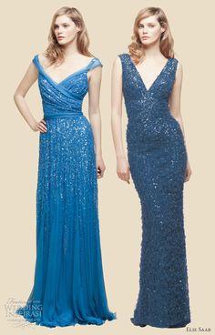 Elie Saab 2012 Resort Collection - Blue