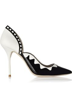 sophia webster black and white shoes - Google Search