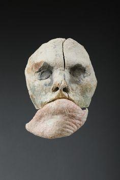 Mask Gallery - Stephen De Staebler Monuments, Contemporary Sculpture, Clay Figures, Book Cover Art, Installation Art, Figurative Art, Sculpture Art, Sculpting, Glass Art